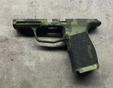 OD Green Multicam and Stippling